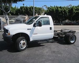 Ford F550 Medium Duty Cab & Chassis Truck