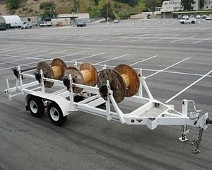 Butler Trailer mfg. Co. OTHER Cable Pulling Trailer