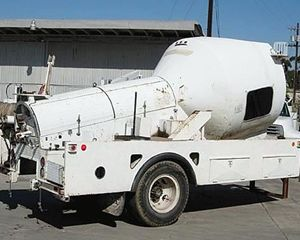 Champion Motor Graders Cable Pulling Trailer