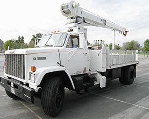 GMC Brigader Crane Truck