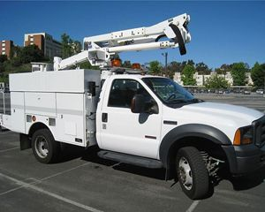 Ford F550 Mechanic Truck