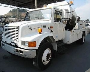 International 4900 Sewer Truck