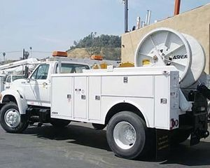 Ford F600 Winch Truck