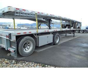 Manac Flatbed Truck
