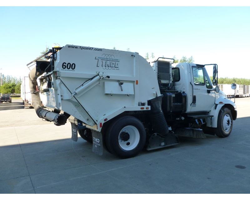 2007 Tymco 600 Street Sweeper Truck For Sale 4 070 Hours