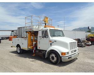 International 4700LP Bucket / Boom Truck