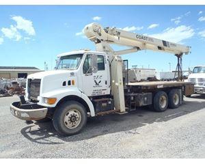 Sterling L8500 Crane Truck