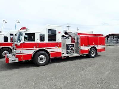 Used Fire Trucks For Sale >> 2001 Pierce Econo Pumper Fire Truck 500hp Automatic