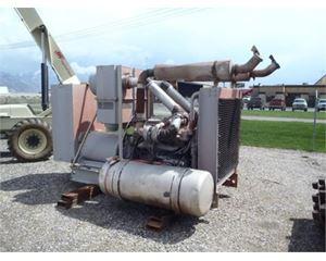 Detroit 300 KW Generator Set