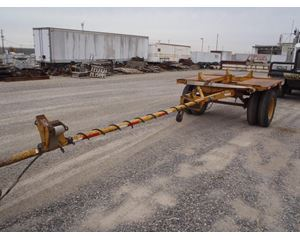 Custom Built Single Axle Pole Trailer