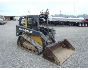 John Deere 319D Skid Steer Track Loader