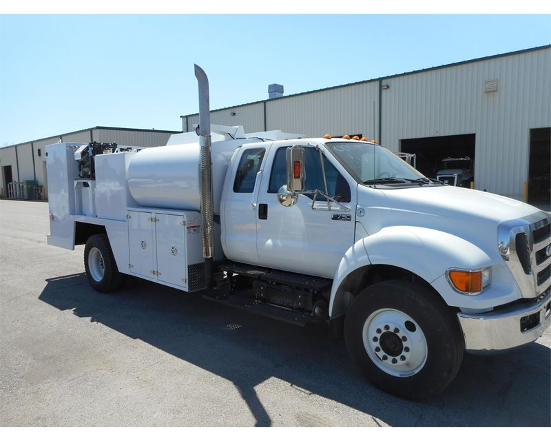 2015 ford f 750 fuel lube truck for sale curryville pa. Black Bedroom Furniture Sets. Home Design Ideas