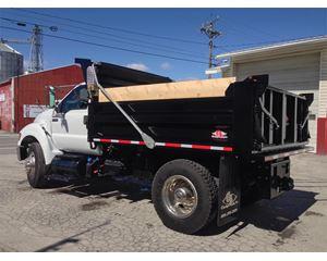Ford F-750 Medium Duty Dump Truck