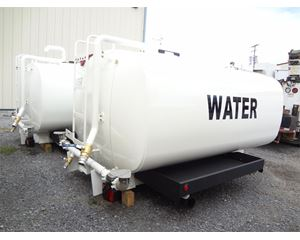 CURRY SUPPLY 2000 gal Curry Supply Ship-out Water tank System Part