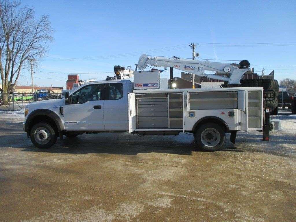2017 ford f 550 service utility truck for sale garner ia 173149. Black Bedroom Furniture Sets. Home Design Ideas