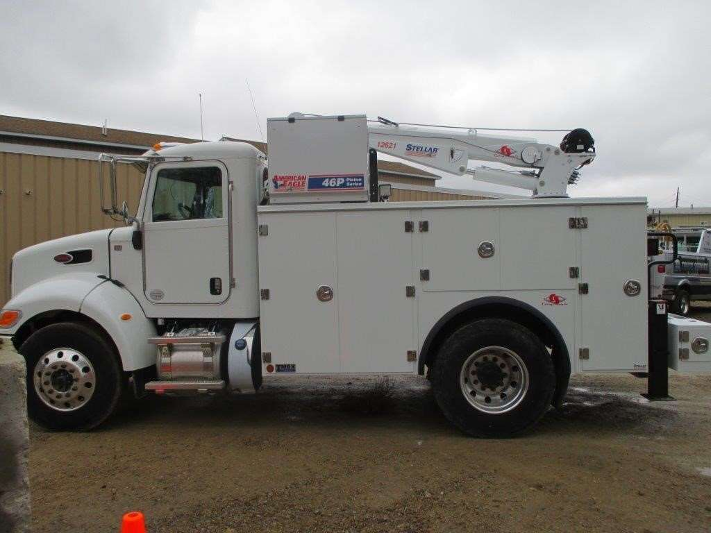 Service Bodies For Pickups : Peterbilt service utility truck for sale