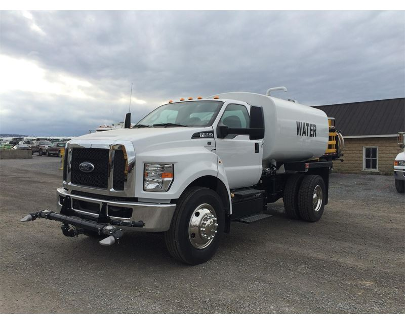 2016 Ford F 750 Water Tank Truck For Sale Curryville PA