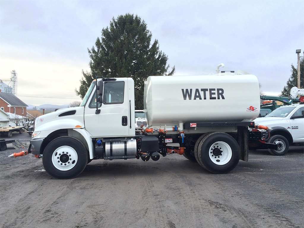 2017 International 4300 Water Tank Truck For Sale | Curryville, PA | 140876 | MyLittleSalesman.com