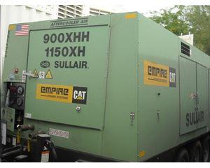 Sullair DTQ900XHHA Air Compressor