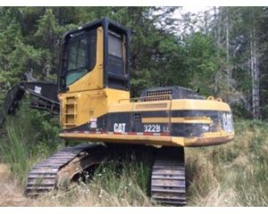 Caterpillar 322B Delimber