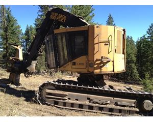 Tigercat LX870 Feller Buncher