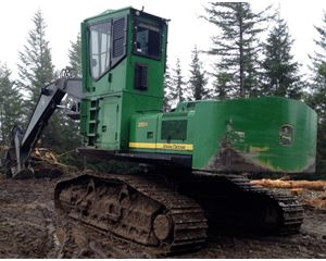 John Deere 2554 Log Loader