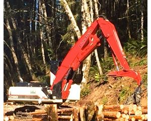 Link-Belt 290 LL Log Loader