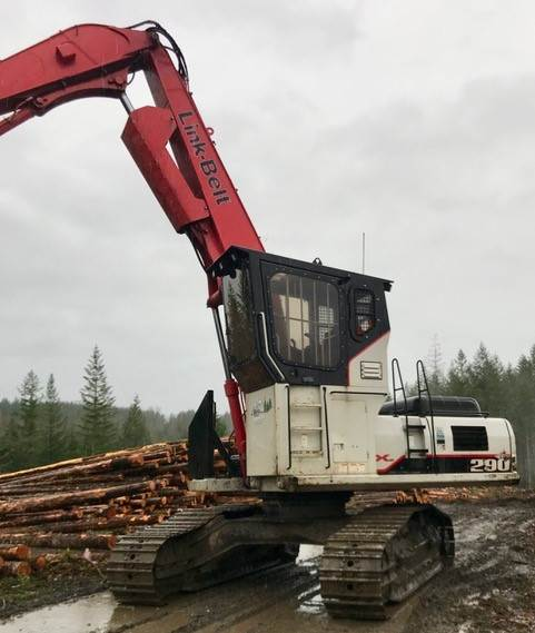 2014 Link Belt 290x2 Log Loader For Sale 10 500 Hours