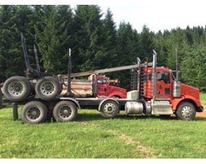 Kenworth T800 Logging Truck Logging Truck