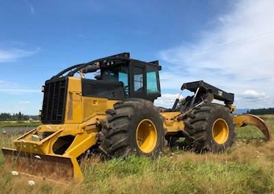 2007 Caterpillar 545C Skidder