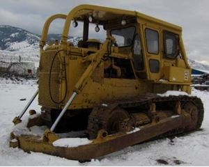 Caterpillar D8K Skidder