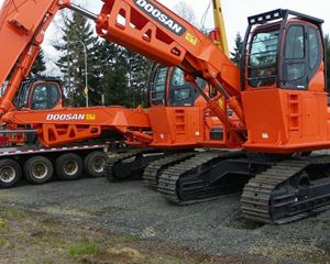 Doosan DX300LL Log Loader
