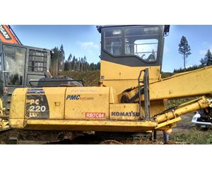 Komatsu Logging / Forestry Equipment
