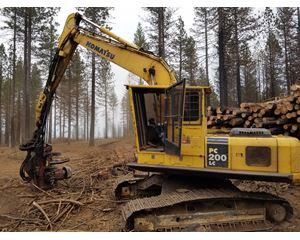 Komatsu PC200LC-7 Logging / Forestry Equipment