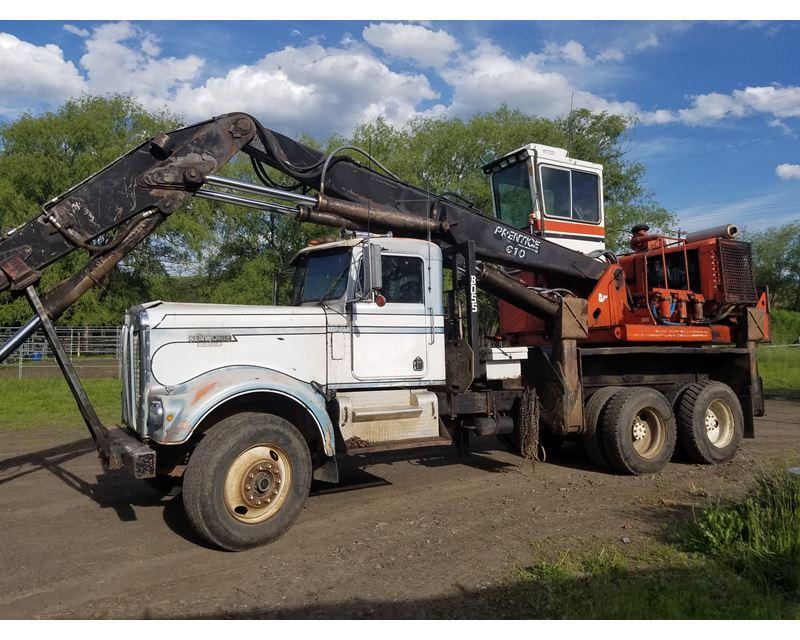 prentice 610 truck mount log loader for sale chehalis wa