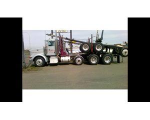 Peterbilt 378 Logging Truck