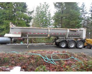 Clement End Dump Semi Trailer