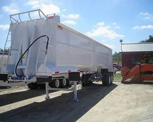 WESTERN End Dump Semi Trailer