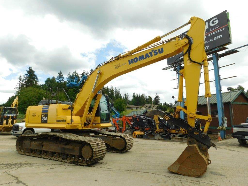 2014 Komatsu PC290 LC-10 Excavator