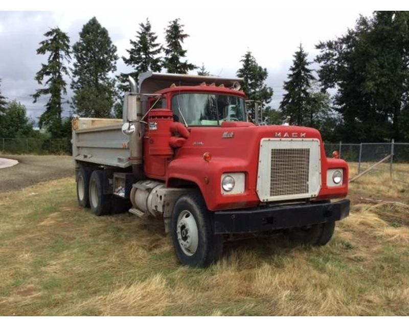 1979 Mack Tractor Truck : Mack rl lst heavy duty dump truck for sale