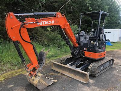 2017 Hitachi ZX35 Mini Excavator