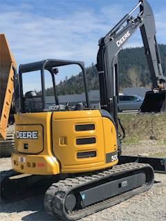 John Deere Mini Excavators - 35G, 50G, 60G and More
