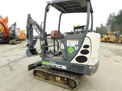 2013 Terex TC16 Mini Excavator
