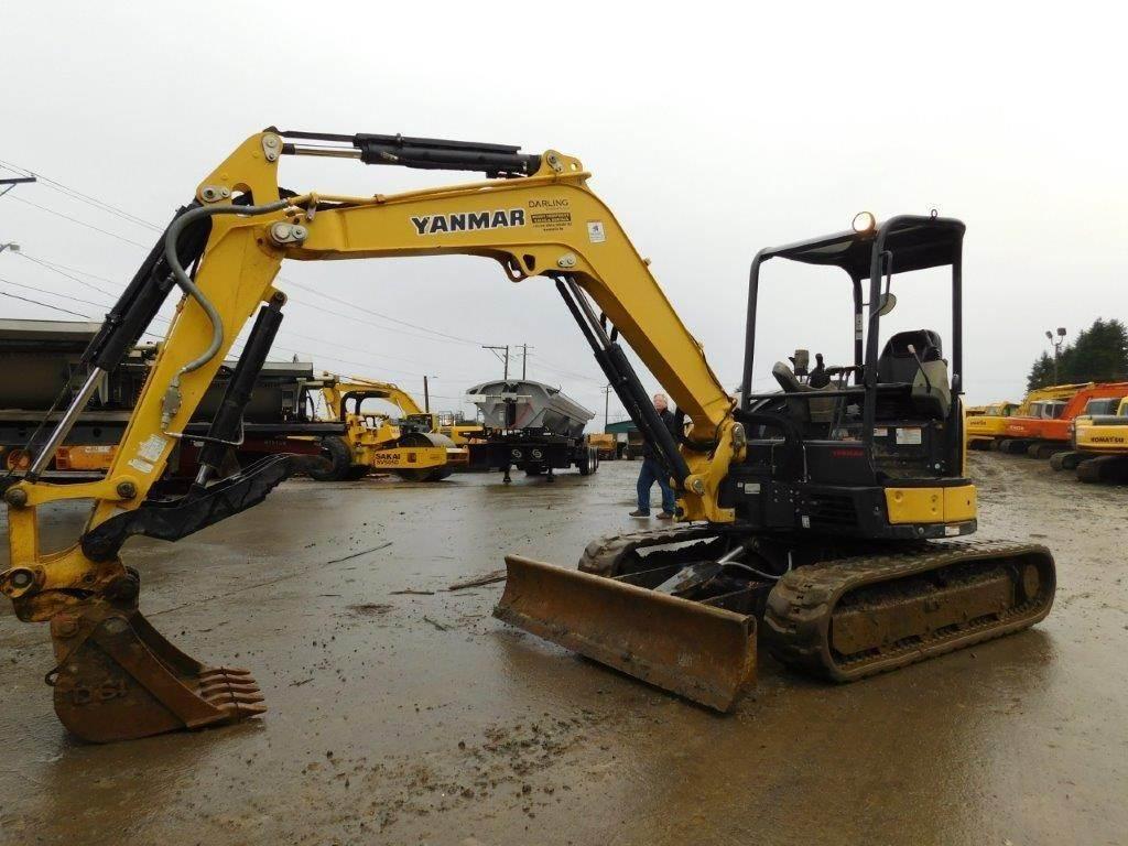 2013 Yanmar VIO45 Mini Excavator For Sale, 1,707 Hours | Woodinville, WA |  9017046 | MyLittleSalesman com
