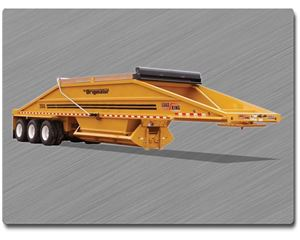 Load King 2060-40-3 Semi-Bottom Dump Trailer