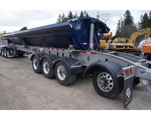 CROSS COUNTRY 4 AXLE Side Dump Semi Trailer