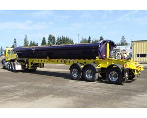CROSS COUNTRY Side Dump Semi Trailer