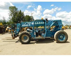 Gradall 534D-9 Telescopic Forklift