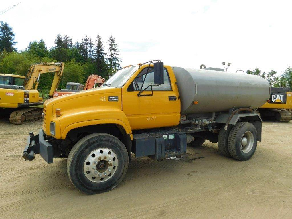 1998 gmc topkick c7500 water truck for sale 15 000 miles woodinville wa 9121056. Black Bedroom Furniture Sets. Home Design Ideas