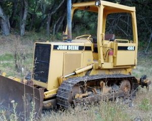 Deere 450G Crawler Dozer